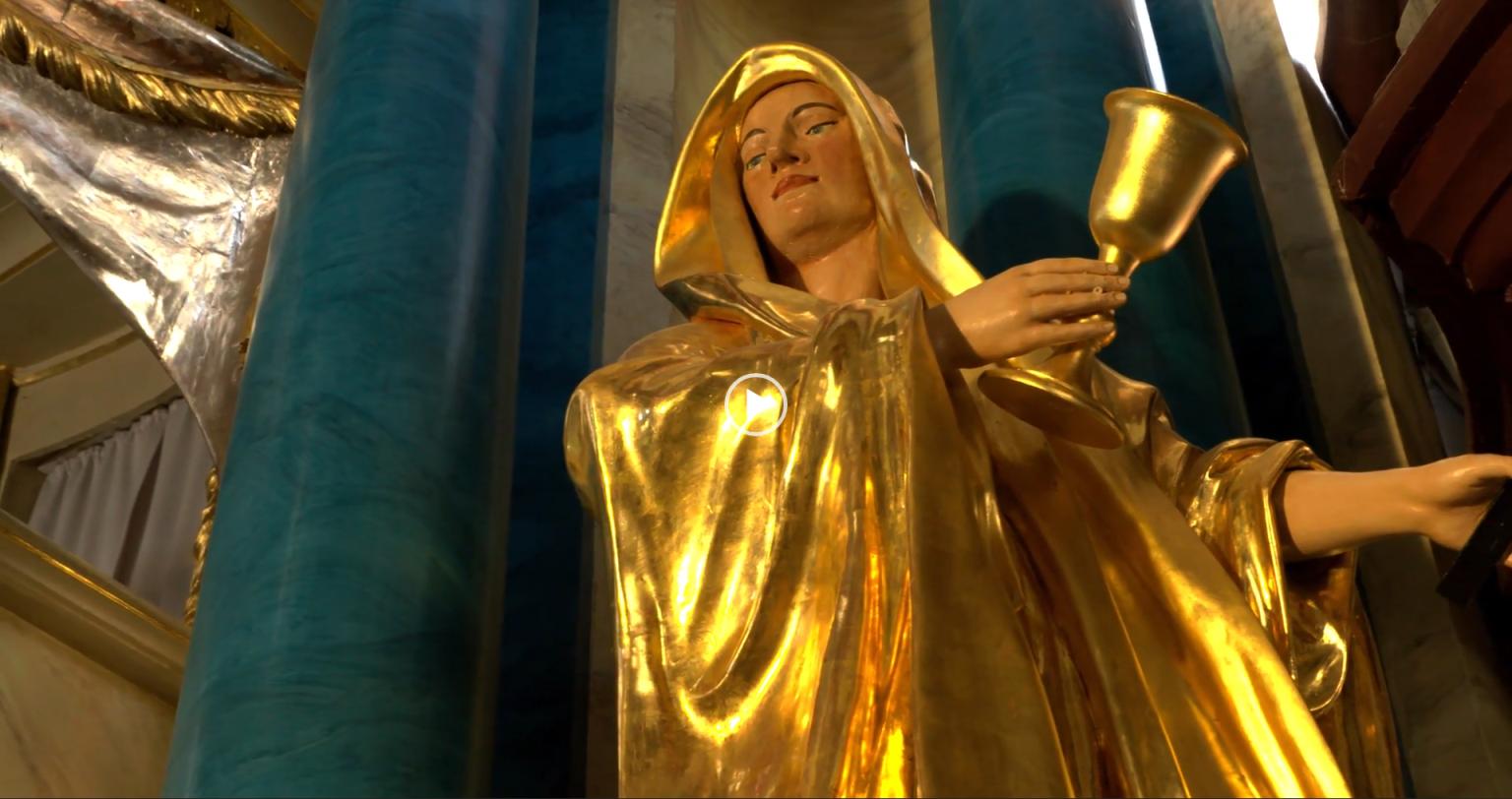 Zu welchen Kirchen reitet Markgräfin Wilhelmine?